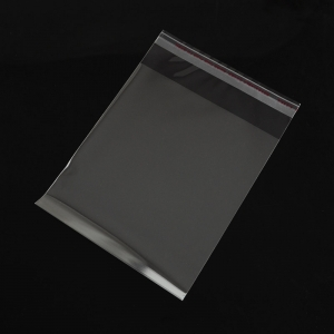 Zakjes met plakstrip 14x10cm, ca 200 stuks