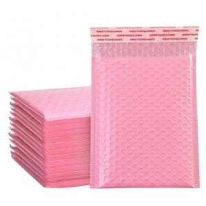 Luchtkussen envelop pink 11x15cm, per stuk