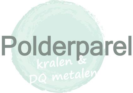 Polderparel, kralen & DQ metaal